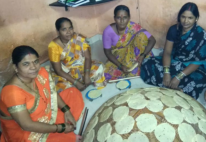 Covid-19 relief donation to Annapurna Pariwar